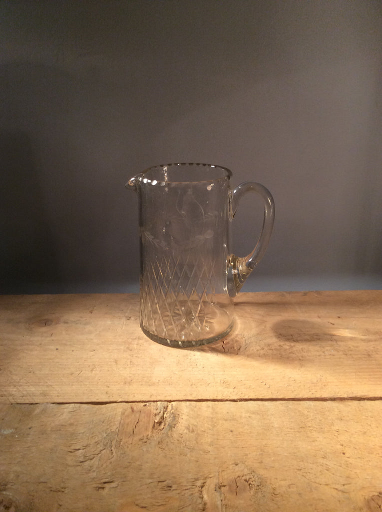 Vintage Cut Glass Jug