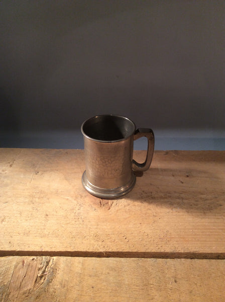 Vintage Tankard with Glass Bottom 301