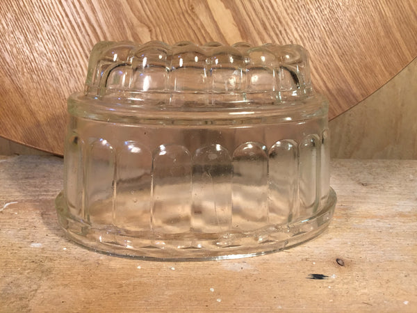 Jelly Mould Glass VINTAGE