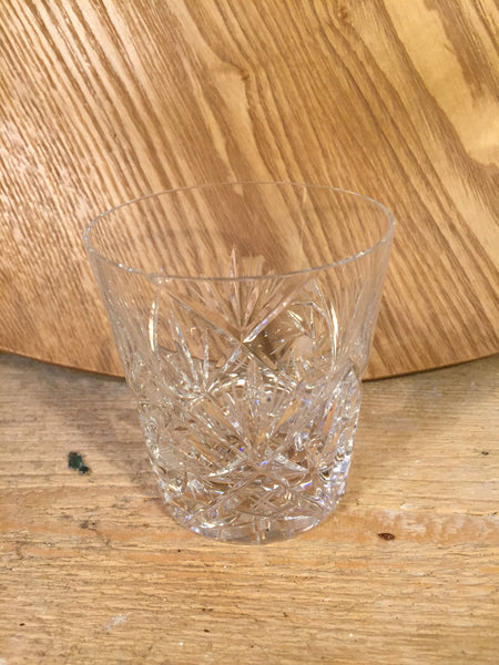 cut crystal tumbler 1
