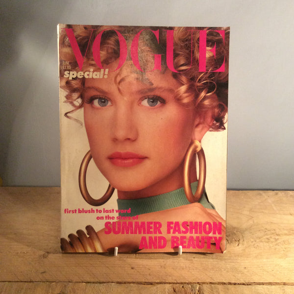 Vintage Vogue Magazine - June 1986