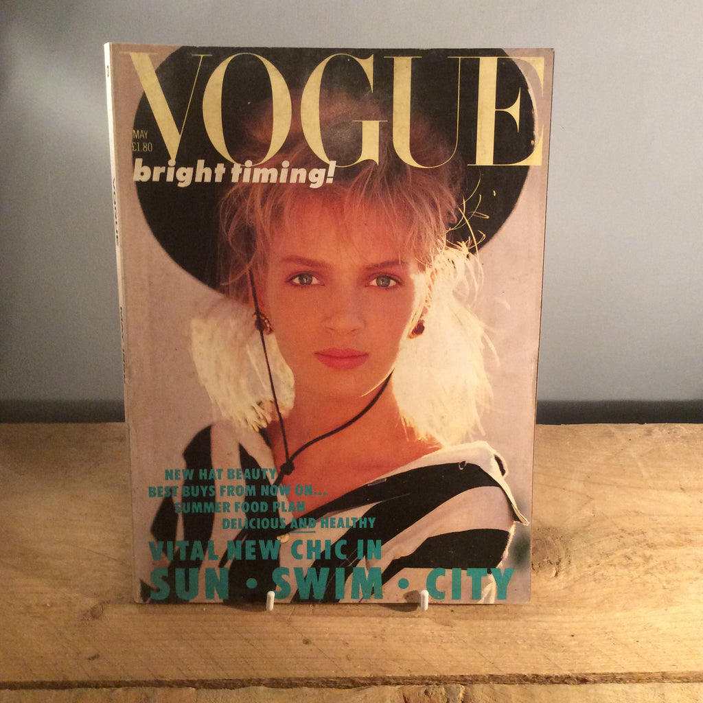 Vintage Vogue Magazine - May 1986