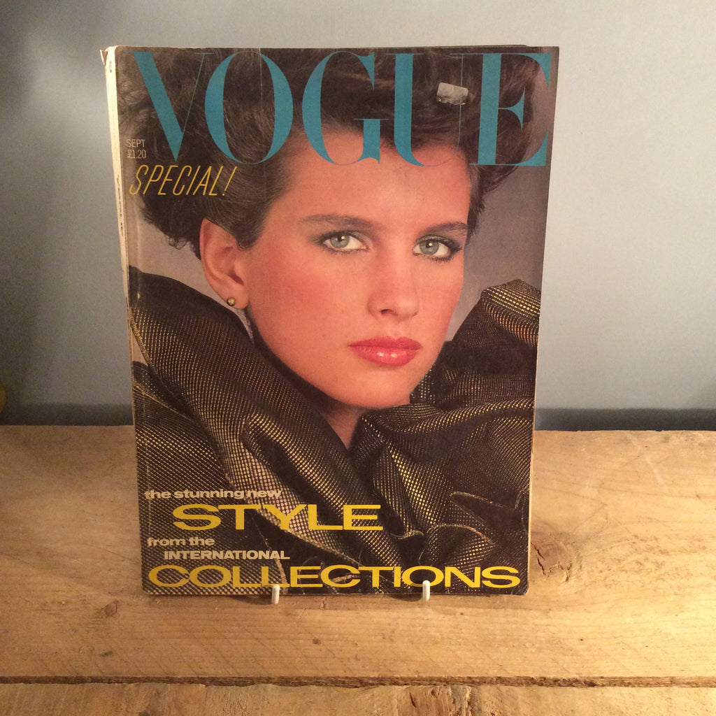 Vintage Vogue Magazine - September 1982