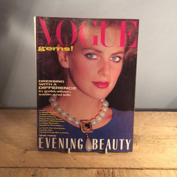 Vintage Vogue Magazine - October 1984