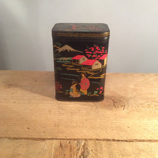 Vintage Illustrated Tin