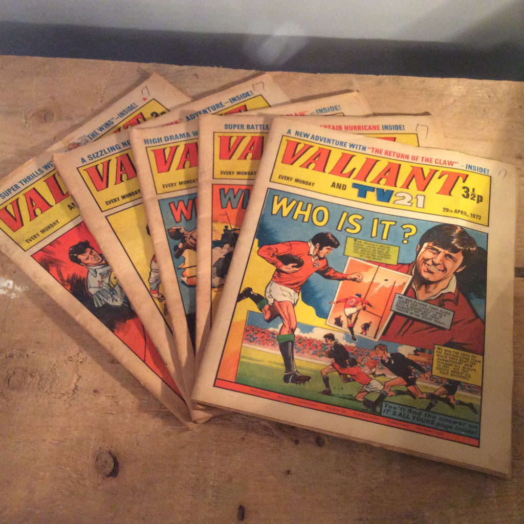 Vintage Books - 1970s Valiant Comics