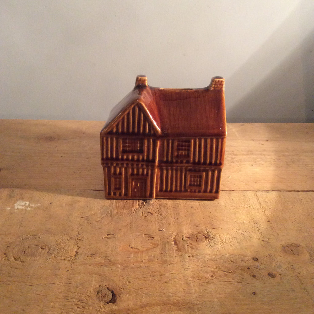 Vintage Piggy Bank House
