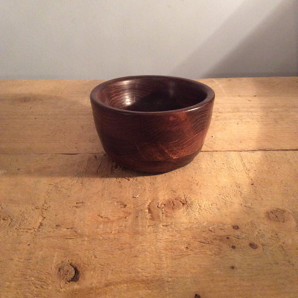 Vintage Wooden Bowl Small
