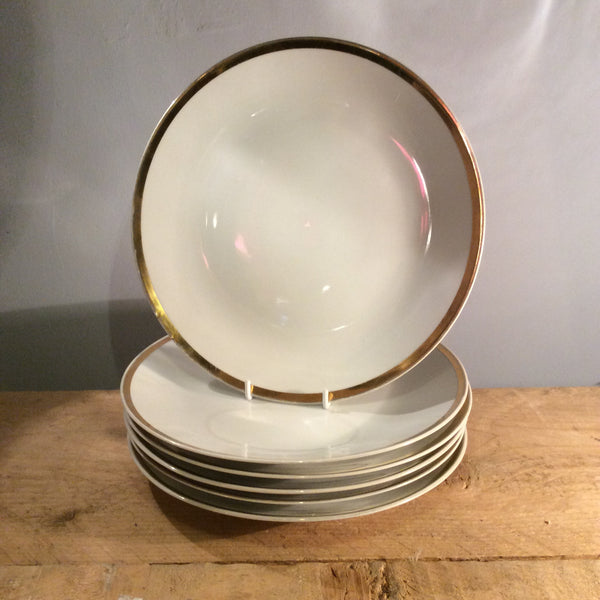 Vintage Set of 5 Brigitta Plates - Small