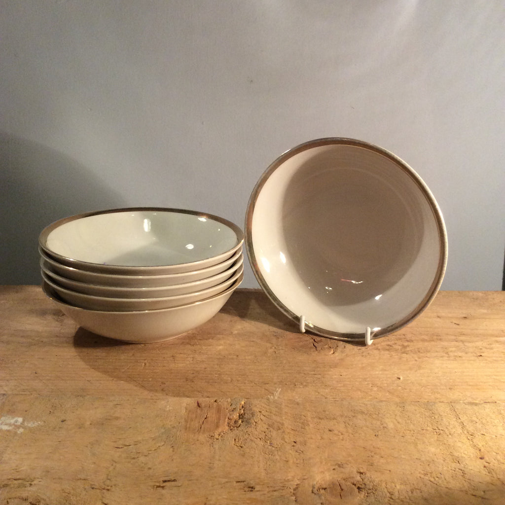 Vintage Set of 6 Brigitta Bowls