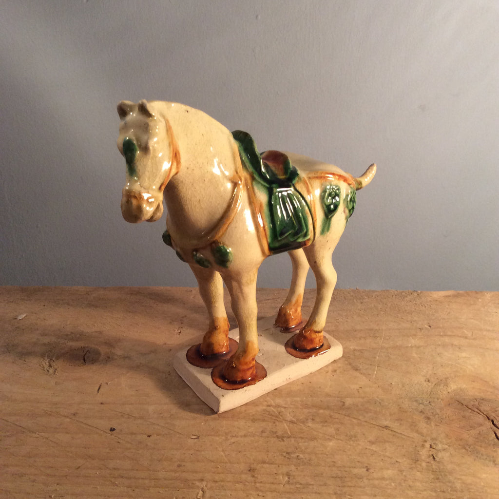 Vintage Tang Dynasty Horse Figurine