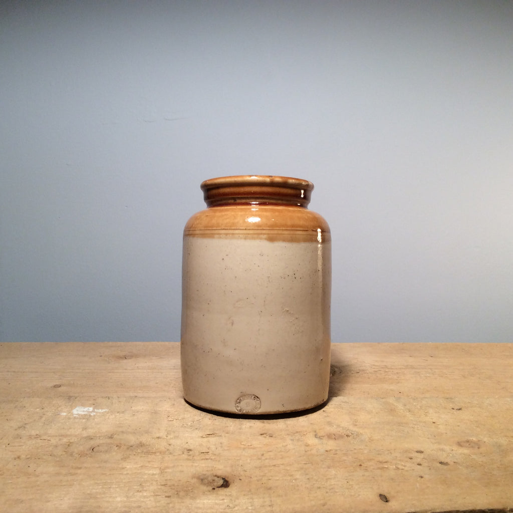 Vintage Ceramic Salt Jar Small