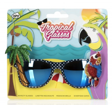 Tropical Sun Glasses