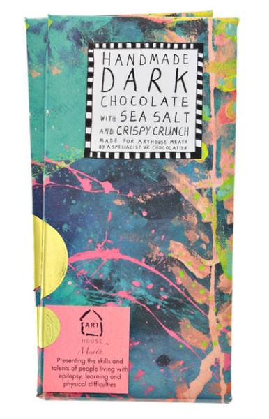 Underwater Handmade Dark Chocolate with Sea Salt and Crispy Crunch