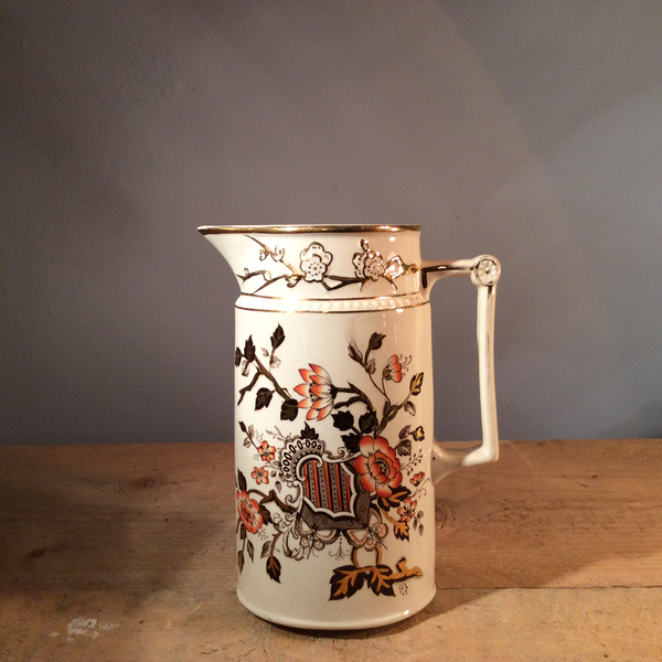 Edwardian Chinoiserie Jug - Large