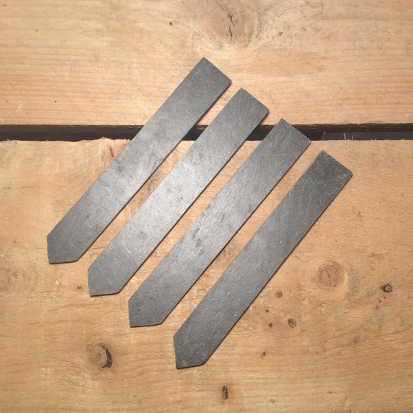 Set of 4 Slate Plant Labels