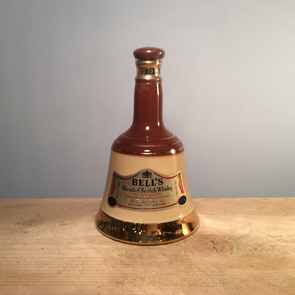 Vintage Ceramic Decanter Bell's Blended Scotch Whisky (Unopened)