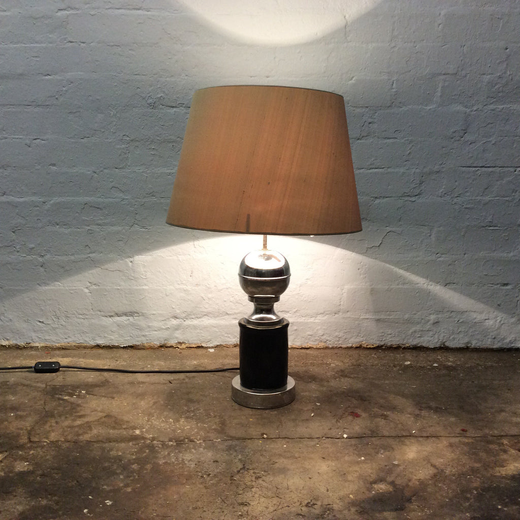 Vintage Lighting - Chrome and Black Lamp Base