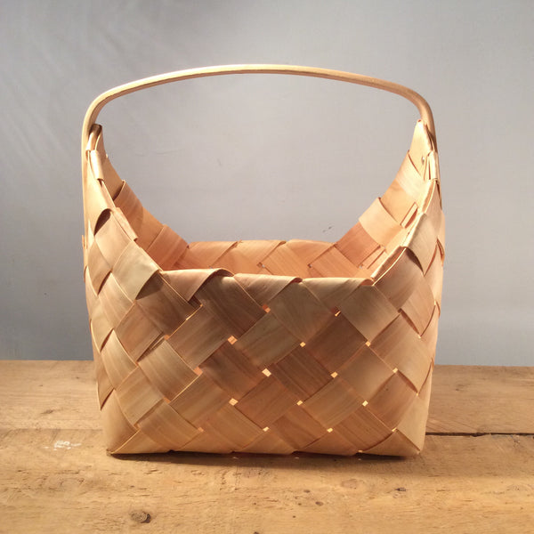 Sam Natural Woven Basket - Large