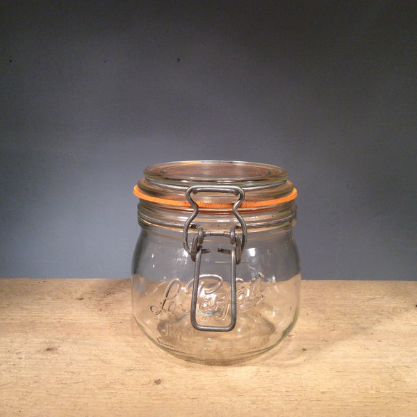 Vintage Le Parfait Glass Canning Jar