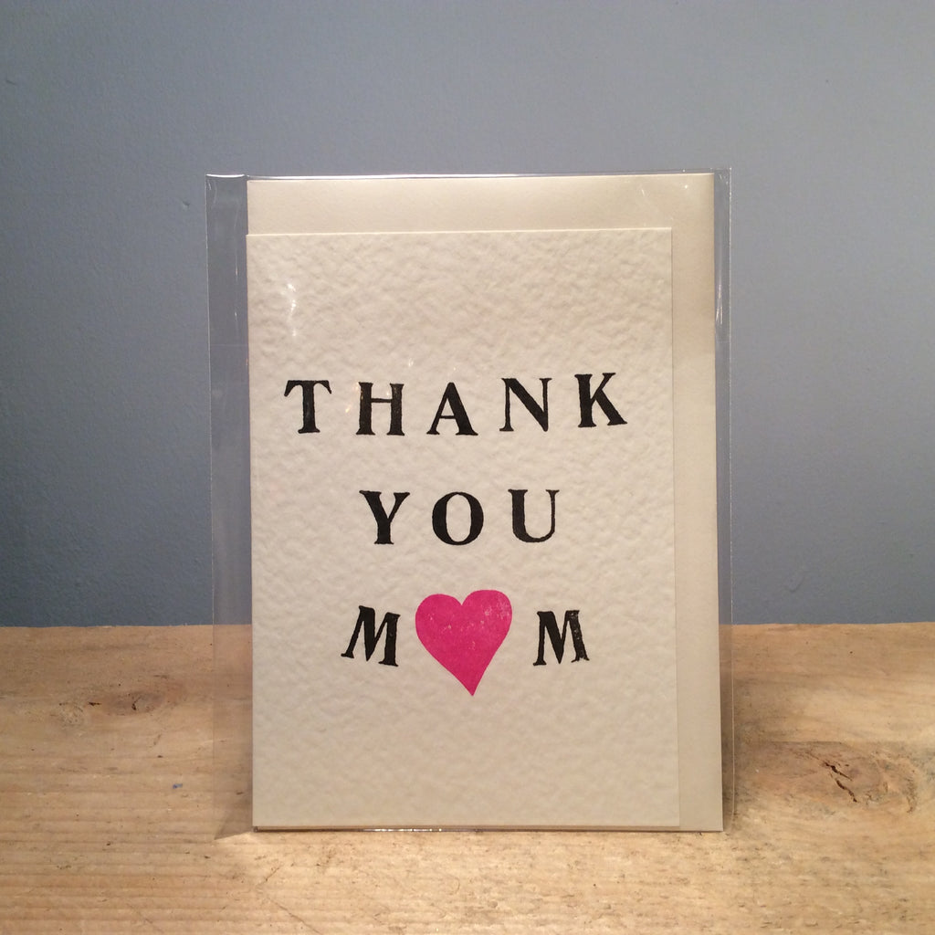 Queenie Thank You Mum Handmade Card