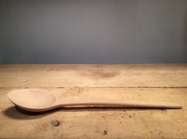 Pitfield Hand Carved Wooden Spoon, Large