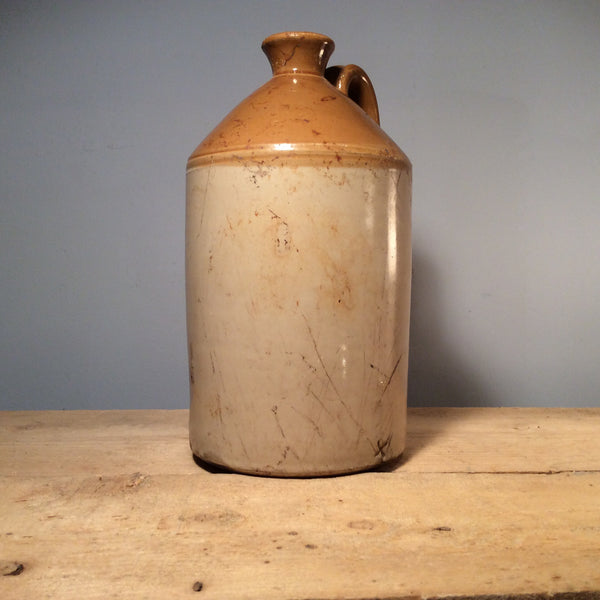 Vintage Ceramic Salt Jar, Narrow Mouth, Large, 35cm