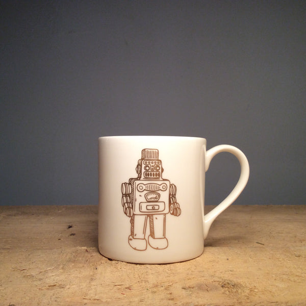 Pitfield Mug - Robot