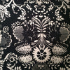 Pitfield Cushion - Black and White Floral, Small