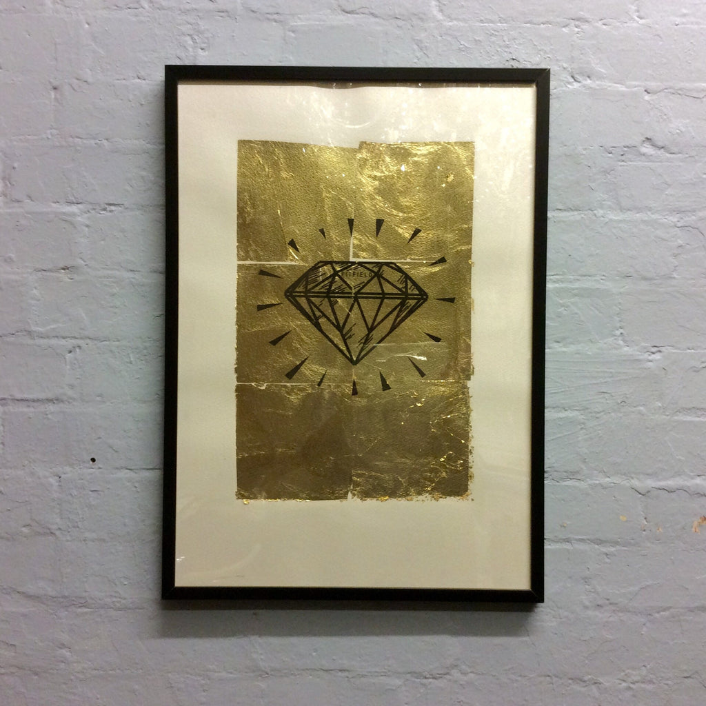 Pitfield Bespoke Gold Emblem Artwork - Diamond
