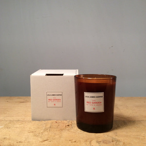 Lola James Harper Red Garden Candle