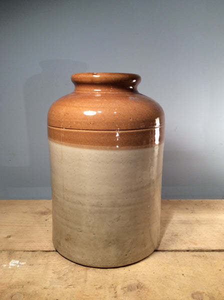 Vintage Ceramic Salt Jar, XXLarge, 45cm tall