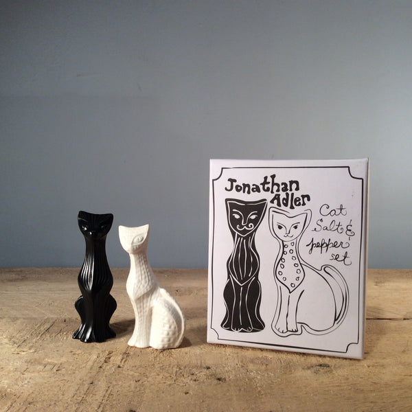 Jonathan Adler Cat Salt and Pepper Set