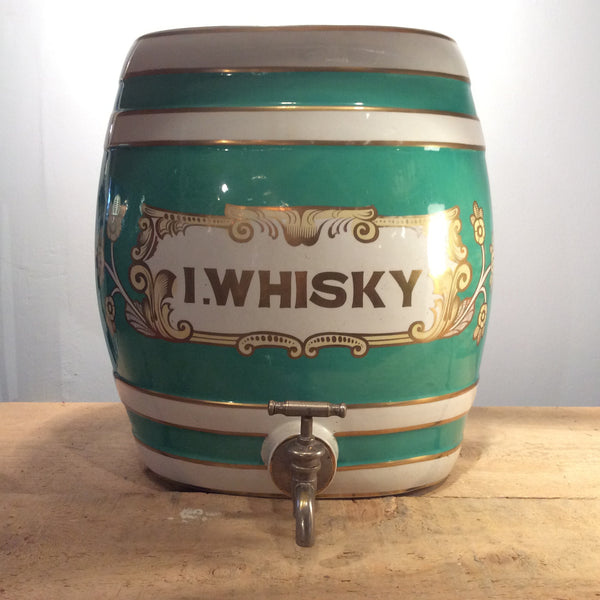Vintage Wade S.Whiskey Barrel by Royal Victoria Pottery