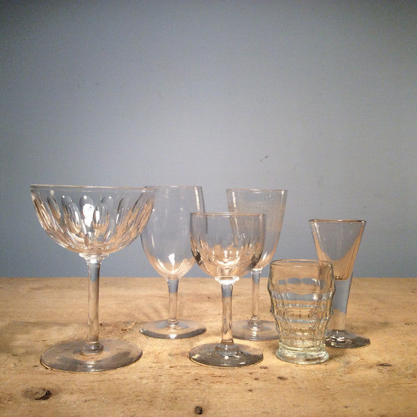 Vintage Individual Tiny Glass