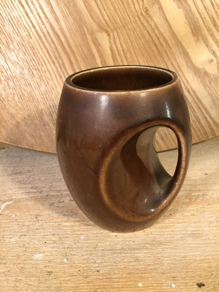 brown ceramic cup Holkham