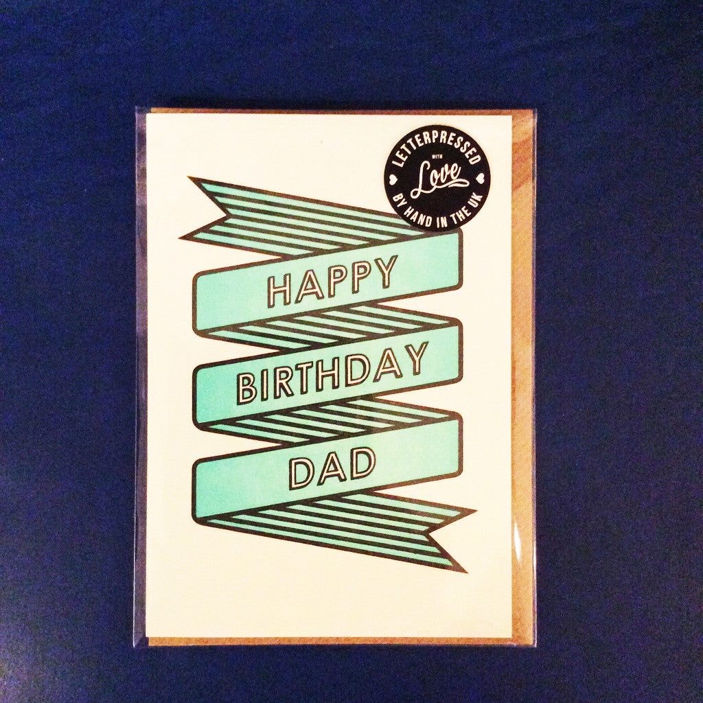 Greeting Card - Happy Birthday Dad