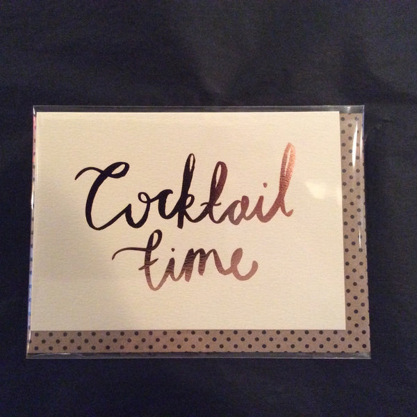 Greeting Card - Cocktail Time