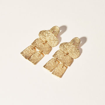Semaphore Earrings