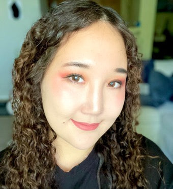 Woman Wearing ColorMe Blush By Susan Posnick Cosmetics