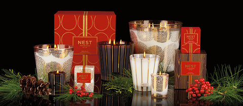 Nest Fragrance Holiday Classic Candle & Reed Diffuser Set