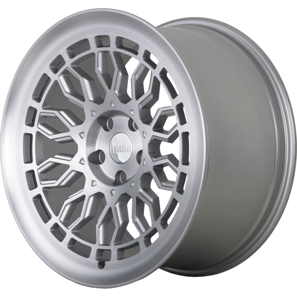 Radi8 Wheels r8a10 | 19x10 | 5x112 | ET42 | Matte Silver/Machine Face
