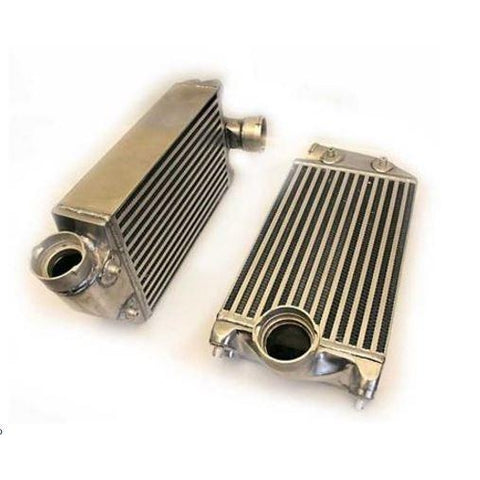 AP 01+ Porsche 996TT/997TT High Flow Racing Intercooler - Redline Motorworks