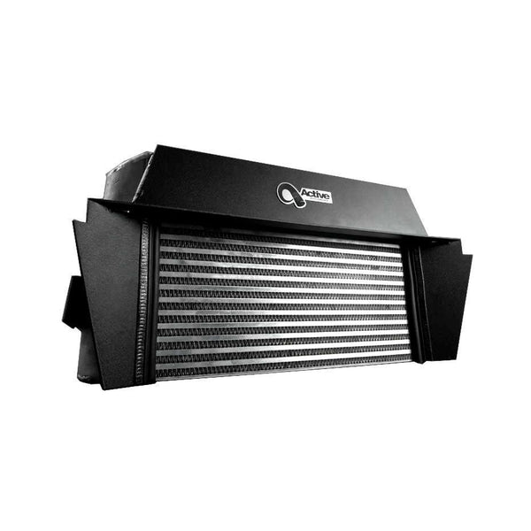 Active Autowerke Race Intercooler with Shroud E92 335i and E82 135i - Redline Motorworks