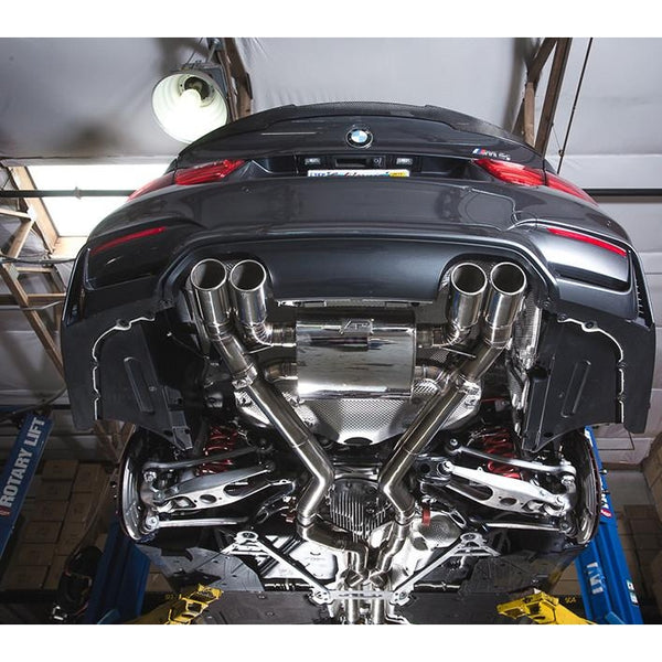 Agency Power Valve Controlled Stainless Steel Exhaust BMW M3 F80 2015+ - Redline Motorworks