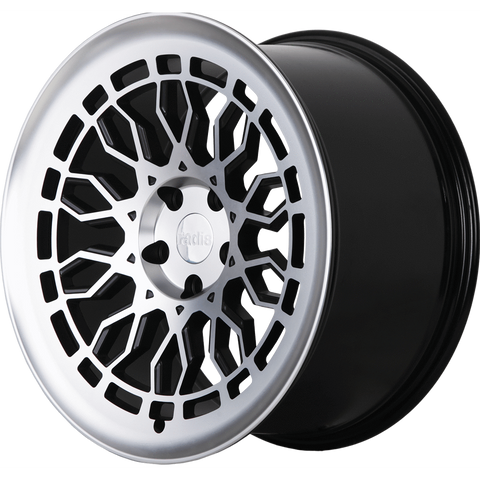 Radi8 Wheels r8a10 | 19x8.5 | 5x120 | ET35 | Black/Machine Face - Redline Motorworks