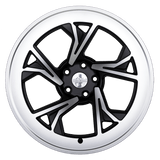 Radi8 Wheels r8c5 | 19x10 | 5x120 | ET40 | Black/Machine Face