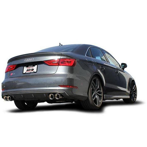 Borla Exhaust S-Type Cat-Back Exhaust for Audi S3 2.0T AWD 13-16 - Redline Motorworks