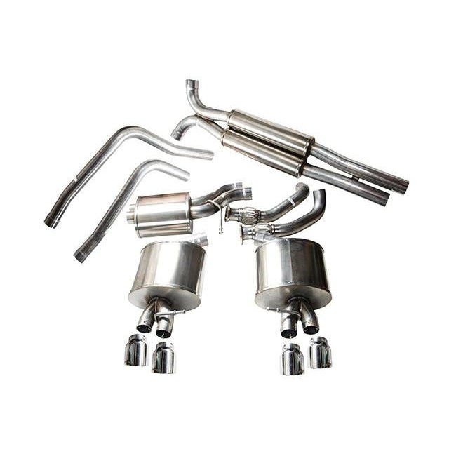 Corsa Audi S4/S5 3.0T Cat-Back Exhaust System