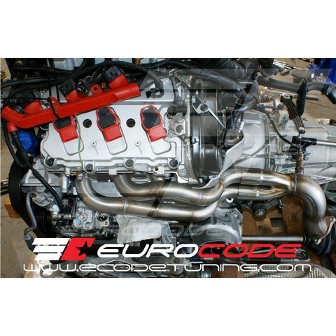 EuroCode Tuning Long Tube Headers Audi S4 3.0T - Redline Motorworks